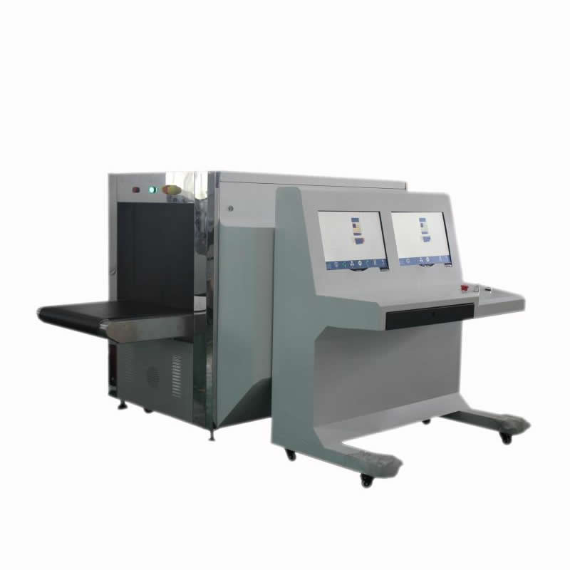 Double view baggage security check machine K6550 DB