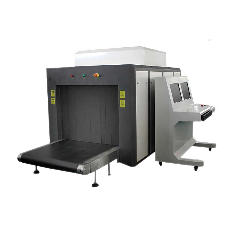Double view baggage security check machine 10080 DB